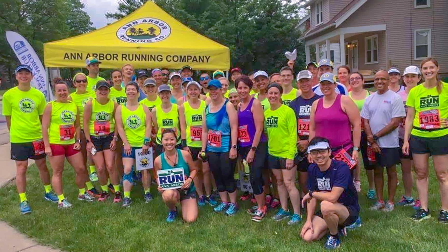 Dexter-Ann Arbor Half Marathon Pacers